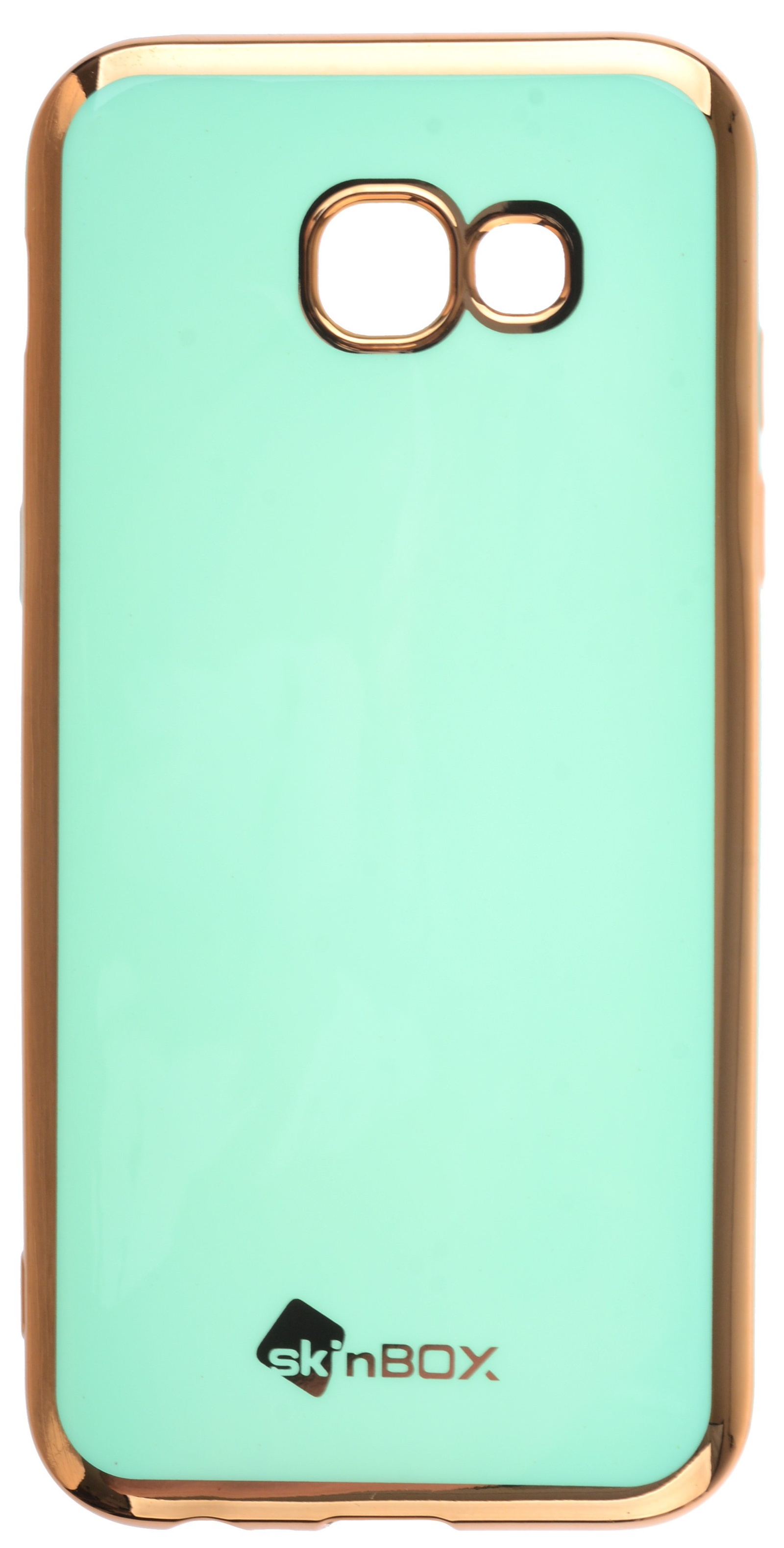 Чехол для сотового телефона skinBOX slim silicone color, 4660041408805, бирюзовый
