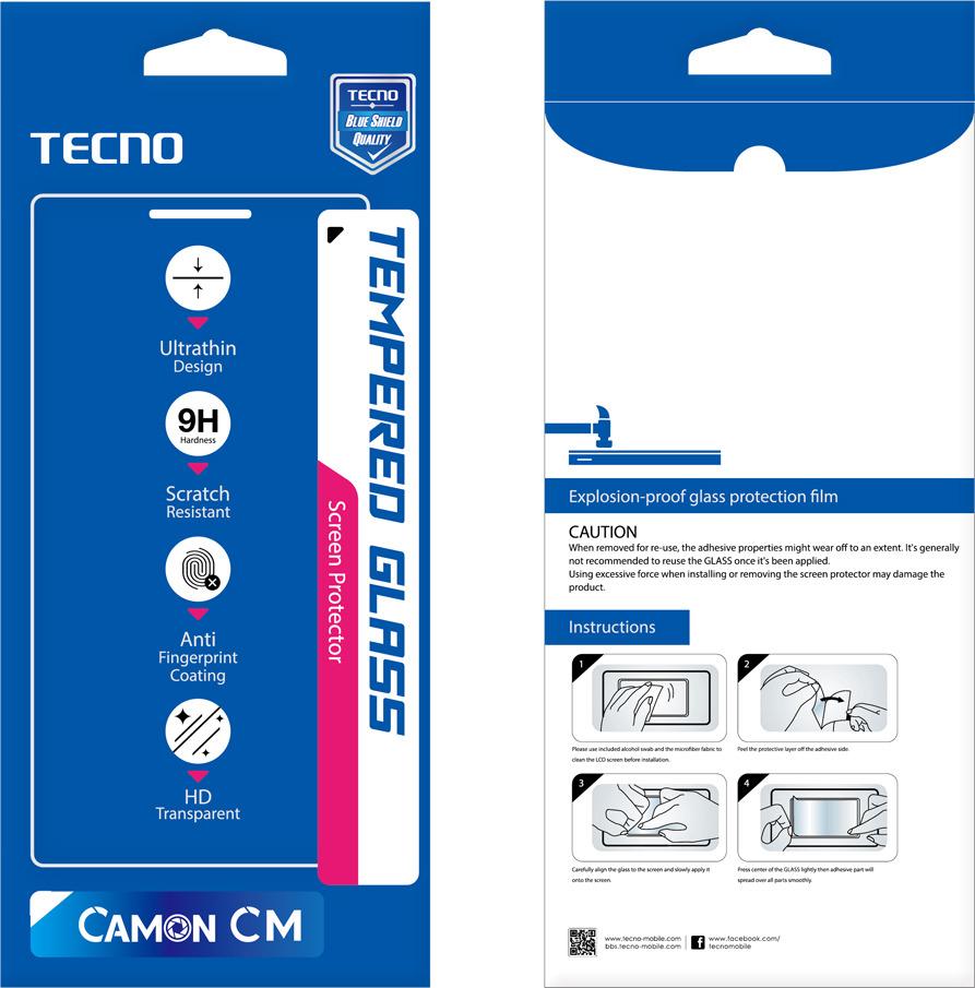 Защитное стекло Tecno для Camon CM, 10302247
