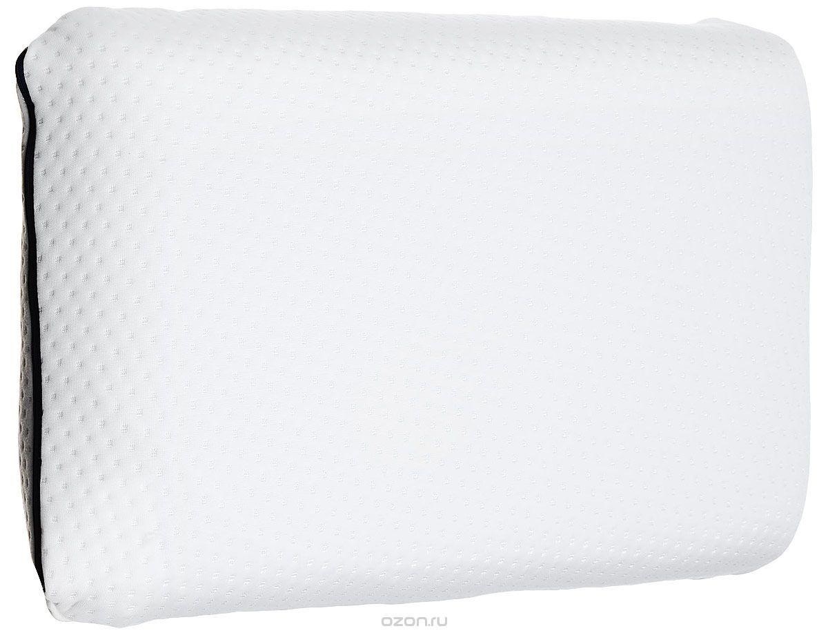 Ортопедическая подушка IQ Sleep Orto Classica трикотажная, 40 см x 60 см, белый подушка ортопедическая orto classica