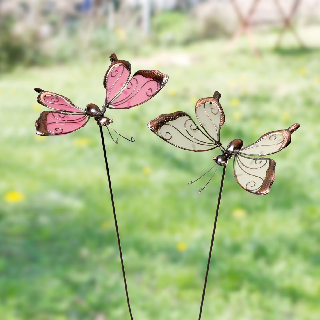Фигурка садовая ХИТ - декор Бабочки, 06628, 06628