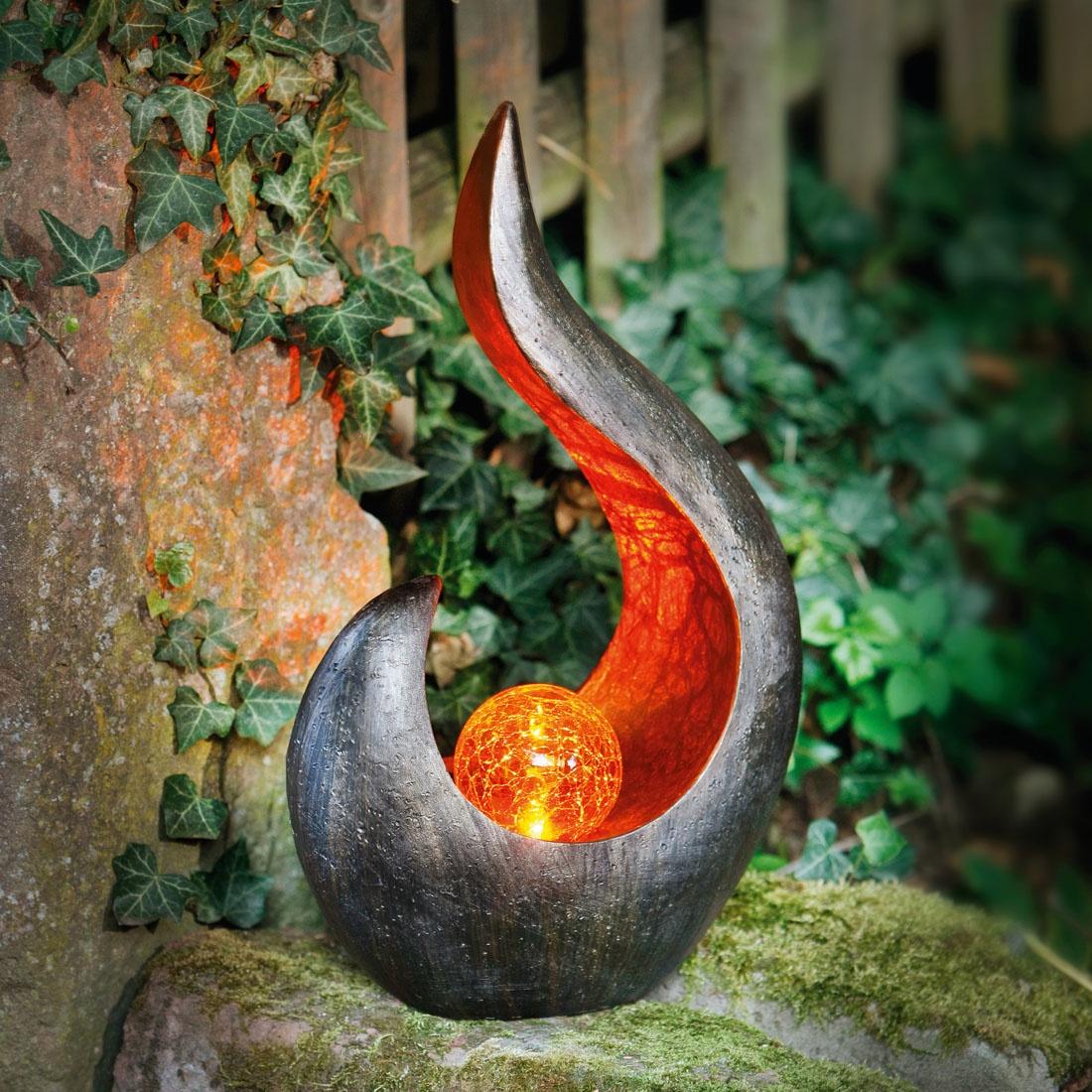 Фигурка садовая ХИТ - декор Пламя, 06629, 06629
