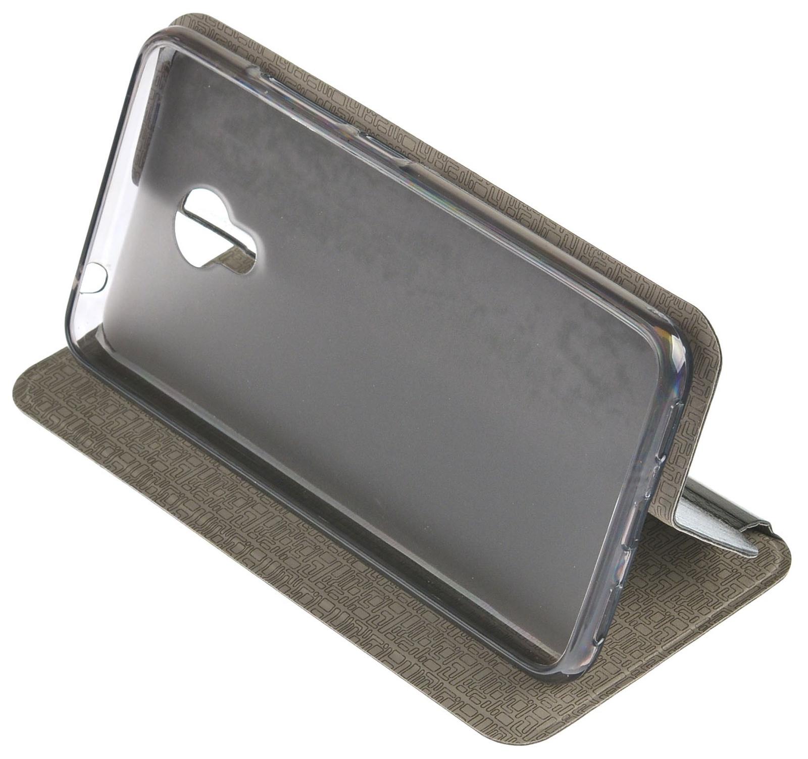 Чехол для сотового телефона skinBOX Lux, 4660041407600, черный