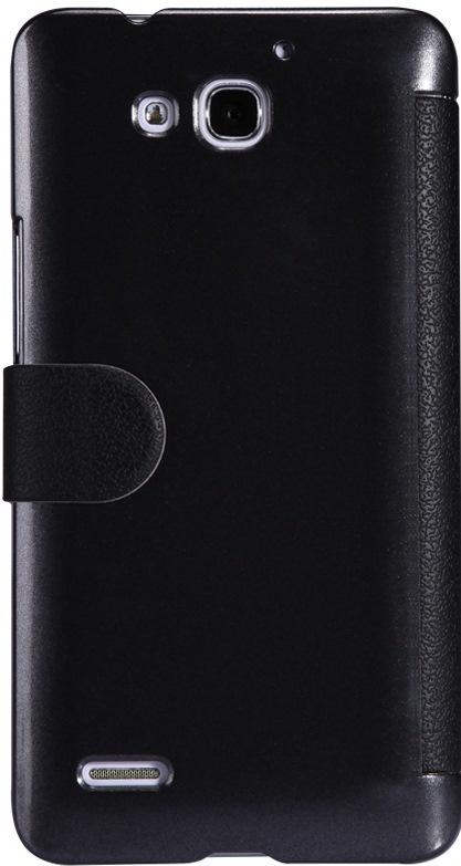 Чехол для сотового телефона Nillkin Fresh, 4660041406610, черный чехол для смартфона lenovo a516 nillkin fresh series leather case черный