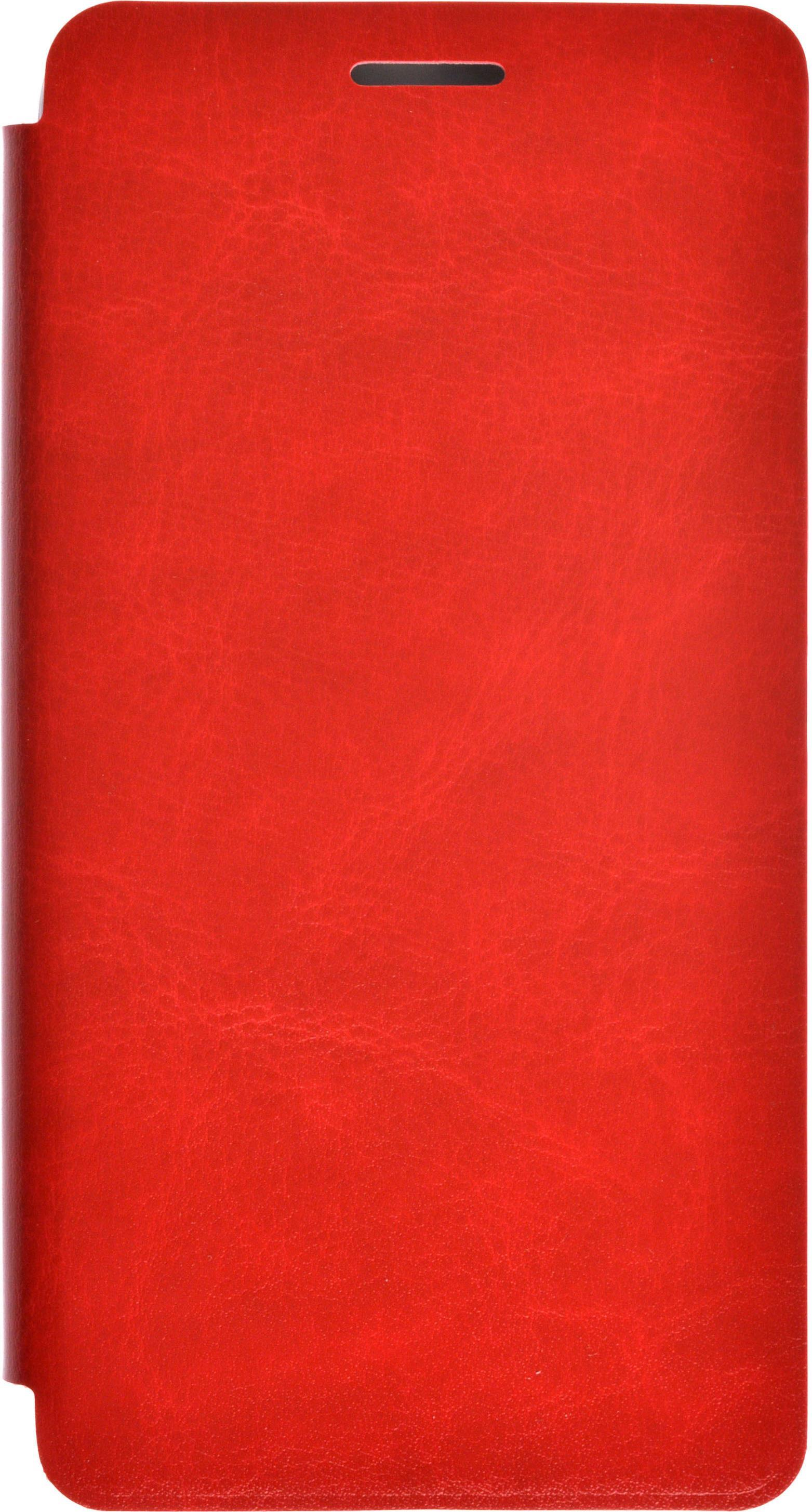 Чехол для сотового телефона skinBOX Lux, 4660041407082, красный чехол для meizu m3 note gecko flip красный
