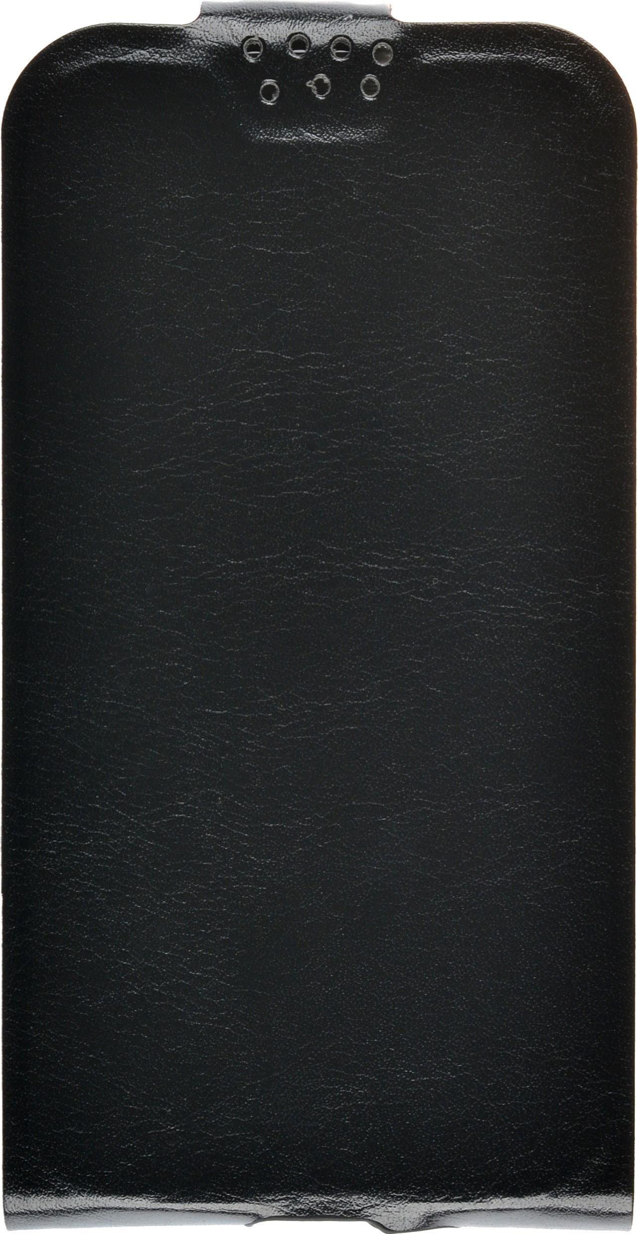 Чехол для сотового телефона skinBOX Flip slim, 4660041407402, черный flip pu leather protective stand case cover for zte blade l2