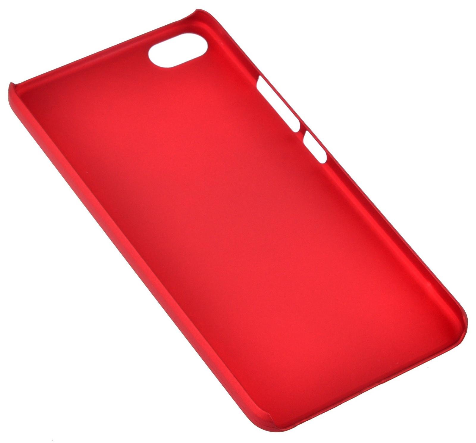 Чехол для сотового телефона skinBOX 4People, 4660041408072, красный чехол для lenovo a2010 skinbox 4people shield case черный