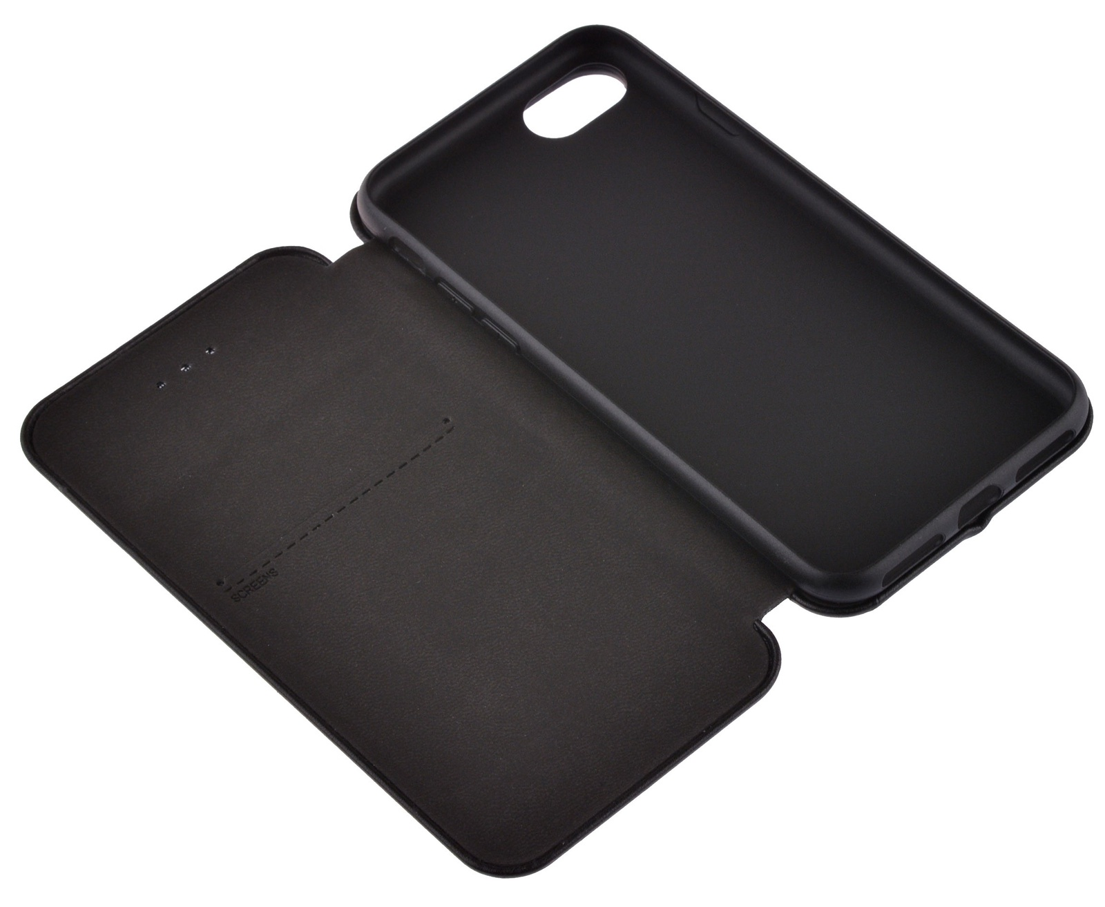 Чехол для сотового телефона skinBOX Screens, 4660041408317, черный loopee чехол крышка loopee для apple iphone 6 пластик черный