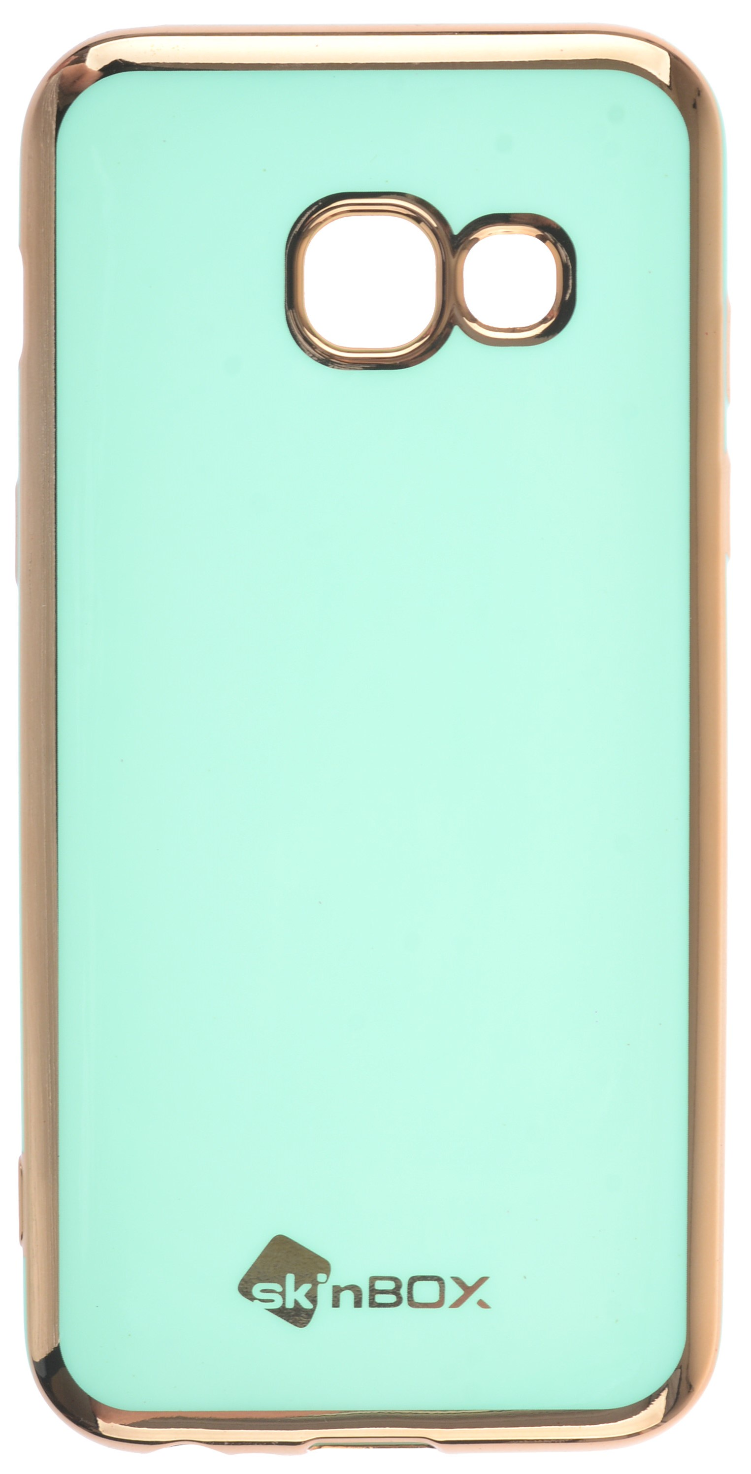 Чехол для сотового телефона skinBOX slim silicone color, 4660041408843, бирюзовый
