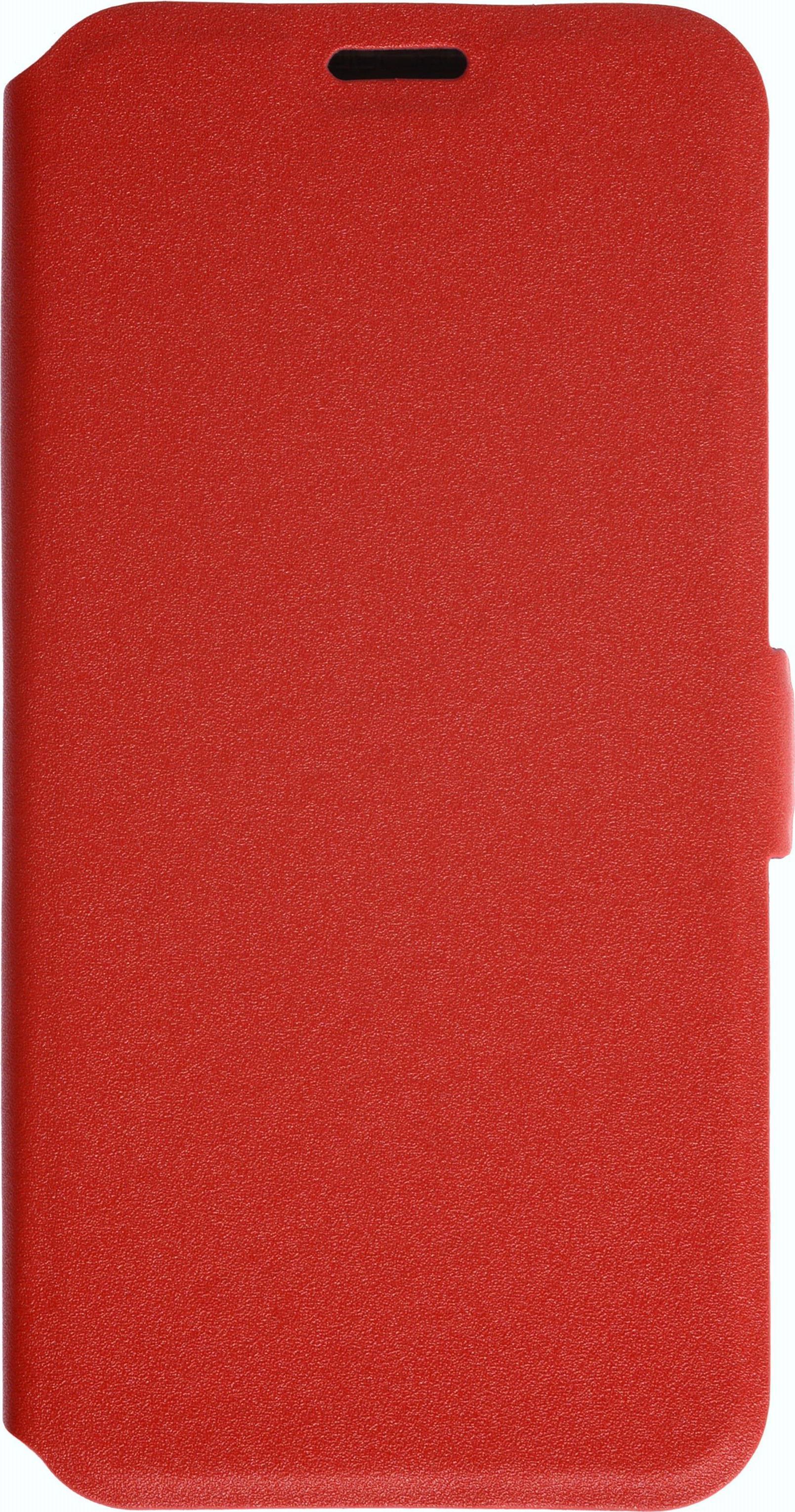 Чехол для сотового телефона PRIME Book, 4660041409215, красный prime book чехол книжка для meizu m5c red