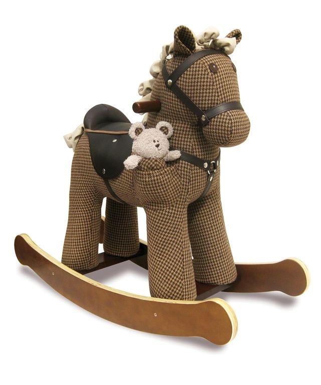 лучшая цена Качалка Little Bird Told Me лошадка детская LB3020 коричневый