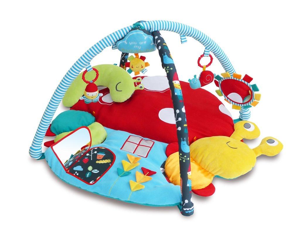 Развивающий коврик Little Bird Told Me коврик детский LB3067 красный, синий, желтый little bird told me развивающий коврик щенок