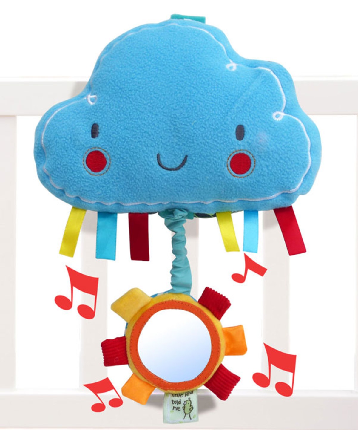 Музыкальная игрушка Little Bird Told Me Развивающая игрушка голубой little bird told me развивающий коврик щенок