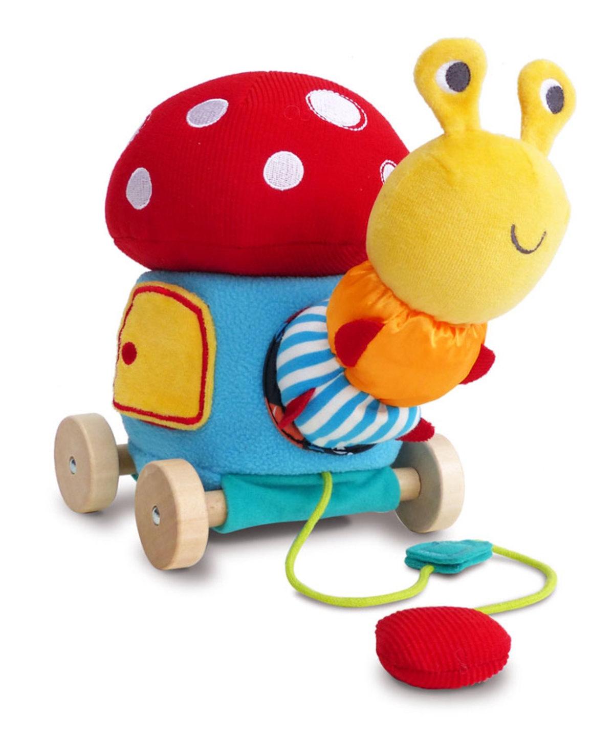 Игрушка-каталка Little Bird Told Me Развивающая игрушка красный little bird told me развивающий коврик щенок
