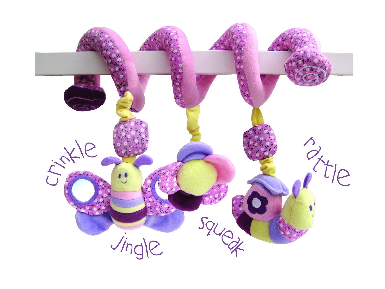 Игрушка-подвеска Little Bird Told Me Развивающая игрушка розовый little bird told me развивающий коврик щенок