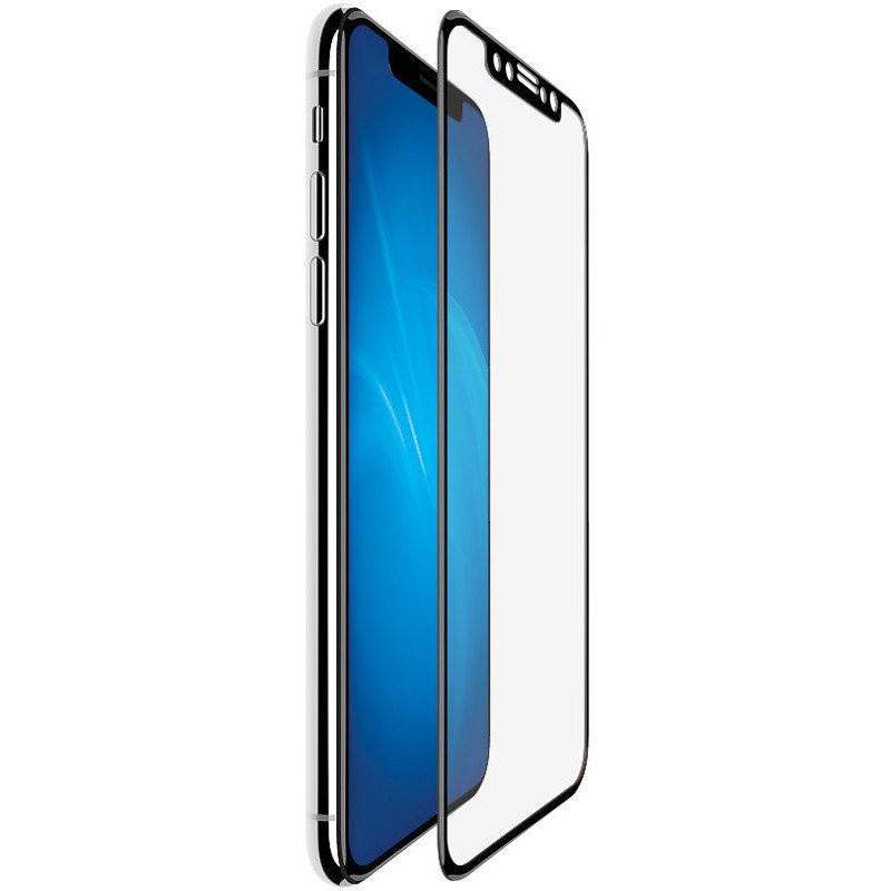 Защитное стекло 5D DREAM для Apple iPhone XS MAX, черный матовый