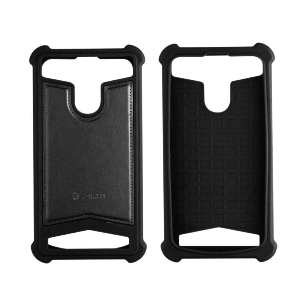 Чехол для сотового телефона DREAM универсальный 5-5,5, черный untamo essence чехол универсальный 4 5 5 0 black