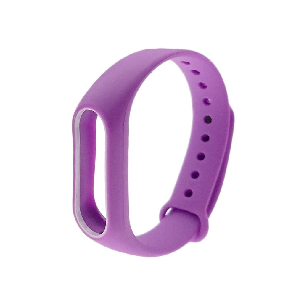 Ремешок для фитнес-браслета mi Xiaomi Mi Band 2, MiB2filwh, фиолетовый