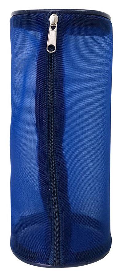 Косметичка SOMMOS женская синяя, синий косметичка sommos женская темно синяя черная сом 250001015 1 темно синий черный
