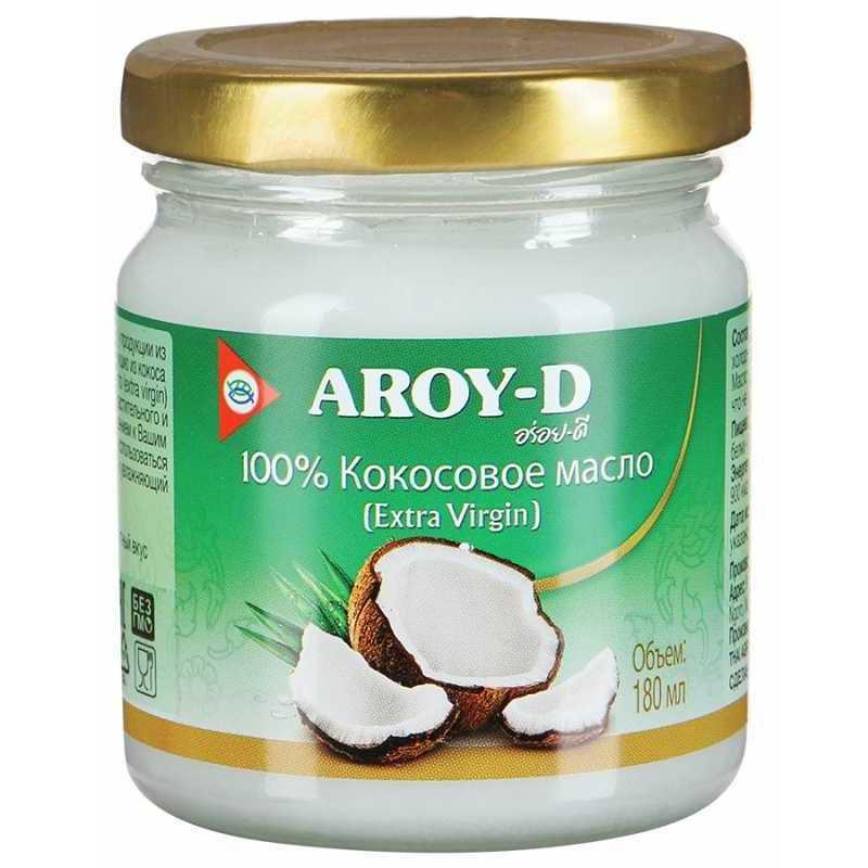 Кокосовое масло AROY-D 3983 масло кокосовое холодный отжим coconut oil virgin indibird 150 мл