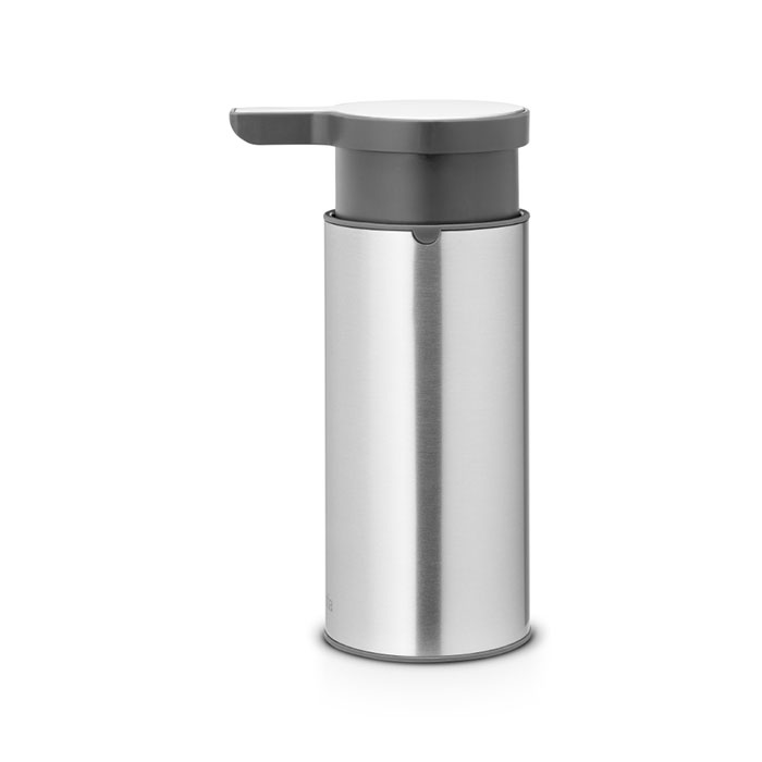 Диспенсер для мыла Brabantia Диспенсер для жидкого мыла, 481208 диспенсер для жидкого мыла brabantia 107467 мятный металик
