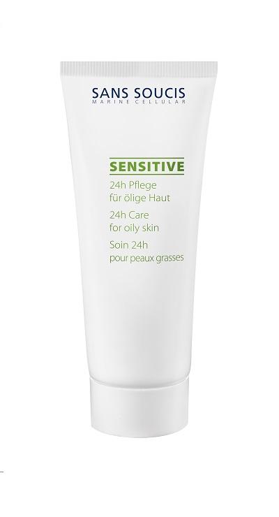 Гель для ухода за кожей Sans Soucis  Крем - гель для чувствительной жирной кожи 24 часа «SENSITIVE» , 40 мл , 41 Sans Soucis