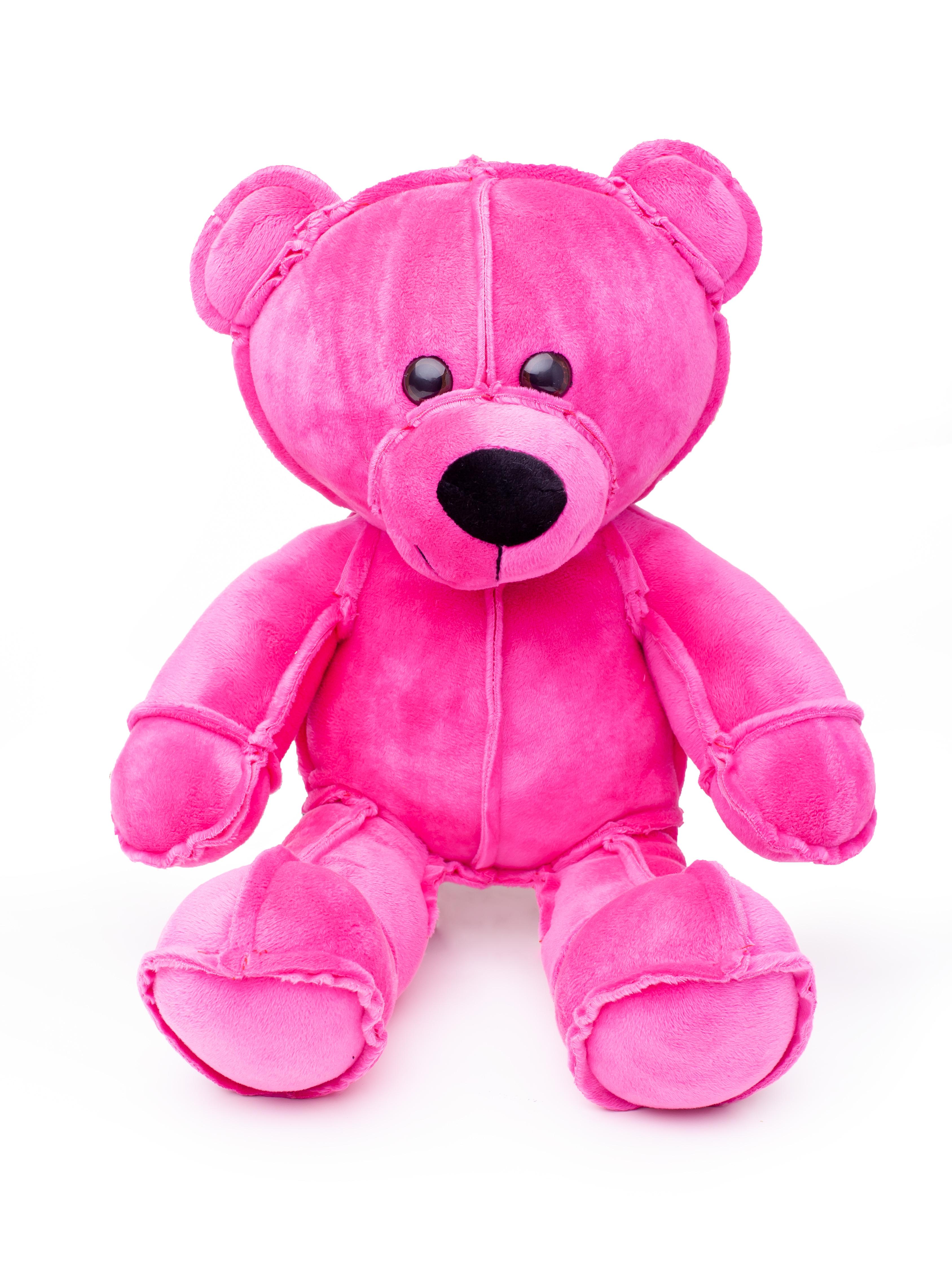 Мягкая игрушка Смолтойс Мишка Даня В45 см, 6199/РЗ/45 розовый