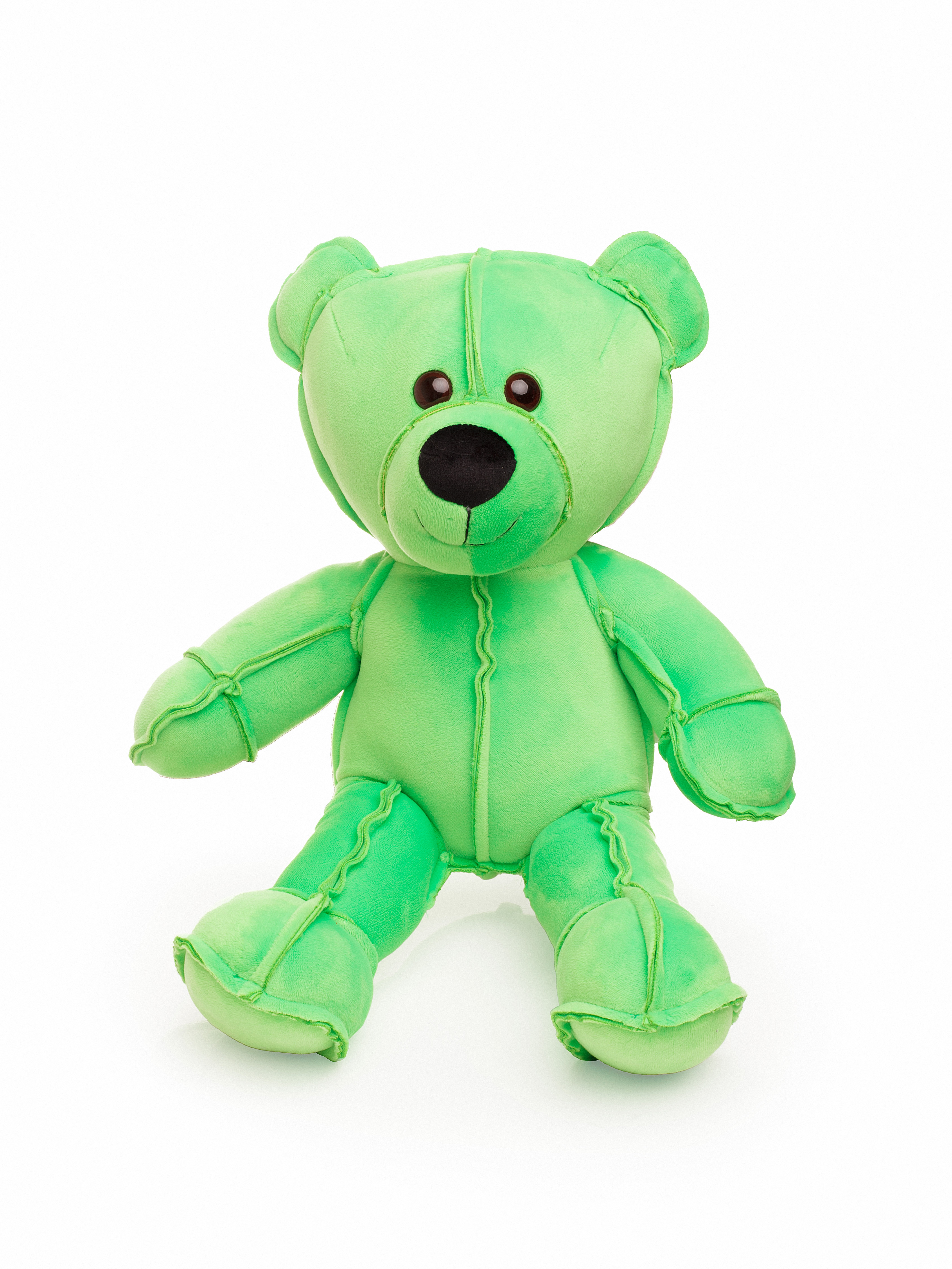 Мягкая игрушка СмолТойс Мишка Даня В45 см, 6199/СЛ/45 салатовый