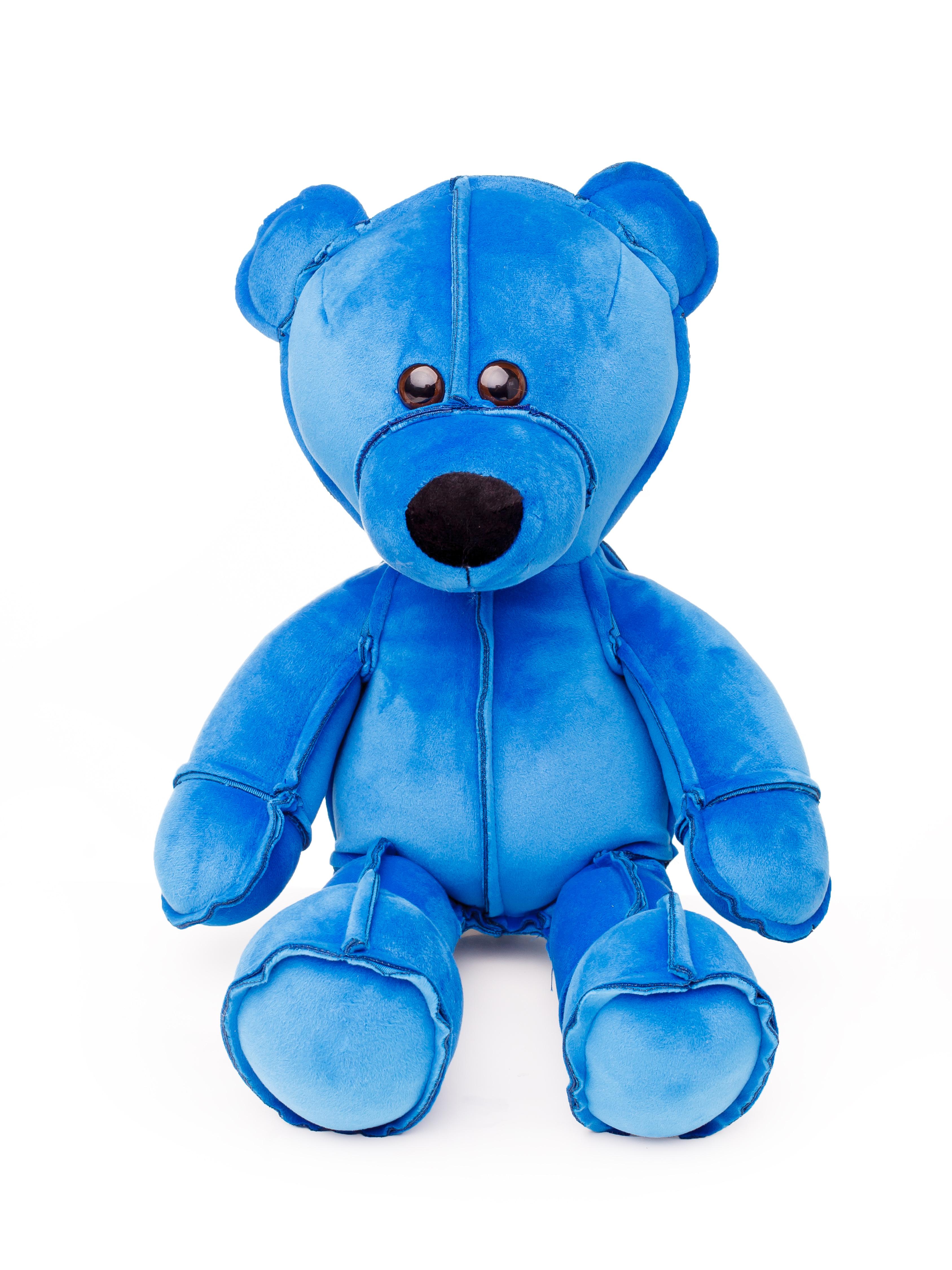 Мягкая игрушка СмолТойс Мишка Даня В45 см, 6199/СН/45 синий смолтойс мягкая игрушка собачка 45 см 1889 мл 45