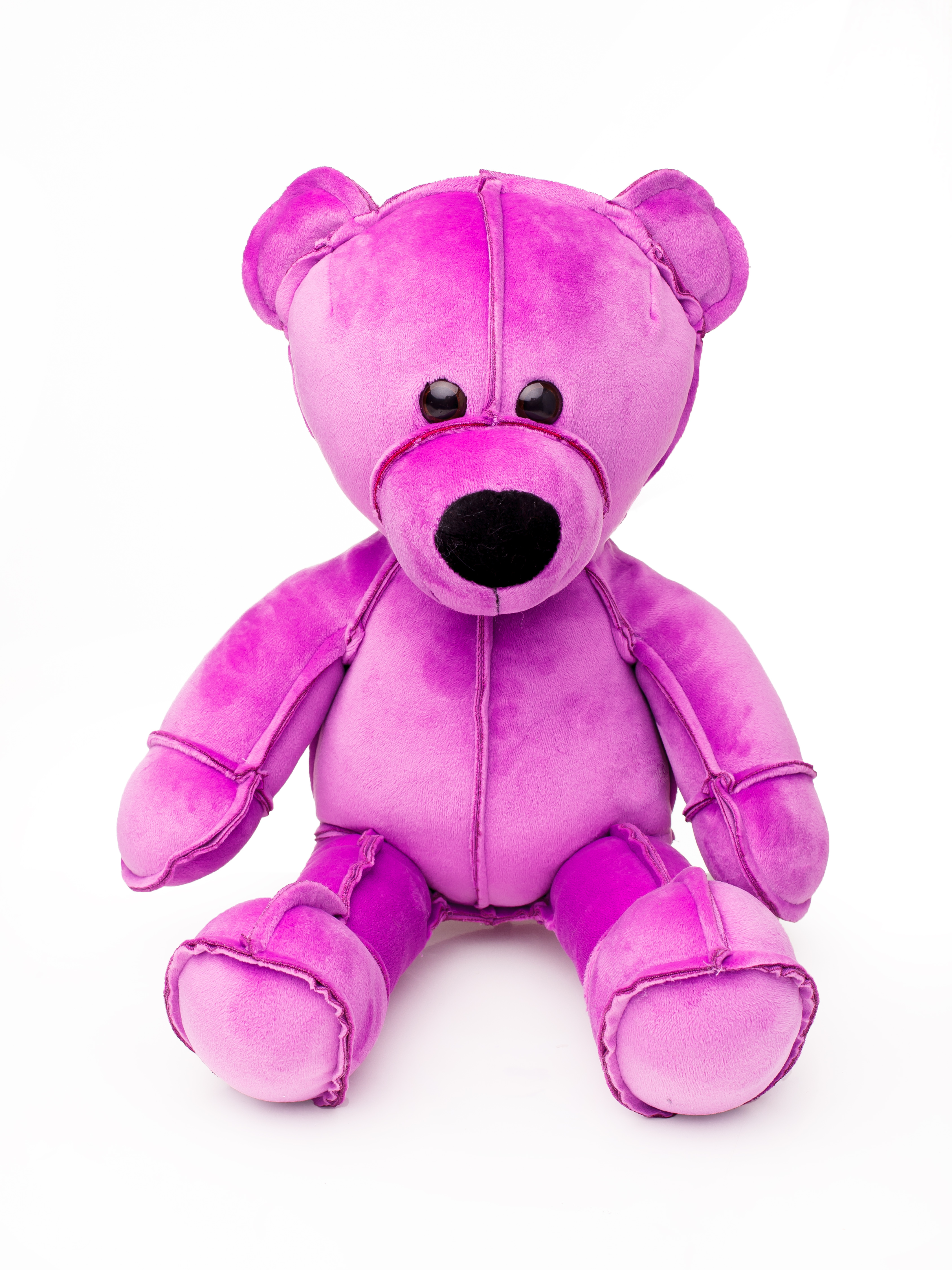 Мягкая игрушка Смолтойс Мишка Даня В45 см, 6199/ФЛ/45 фиолетовый