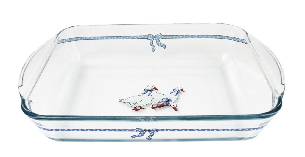 Форма для запекания Ломоносовская керамика УТ-00001192, 505212, прозрачный цены