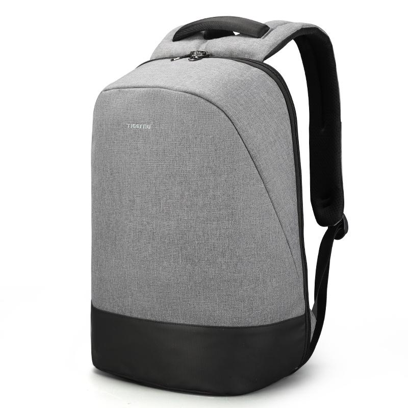 Рюкзак Tigernu T-B3595, 6928112309191, светло-серый 15 6 рюкзак для ноутбука tigernu t b3221 темно серый