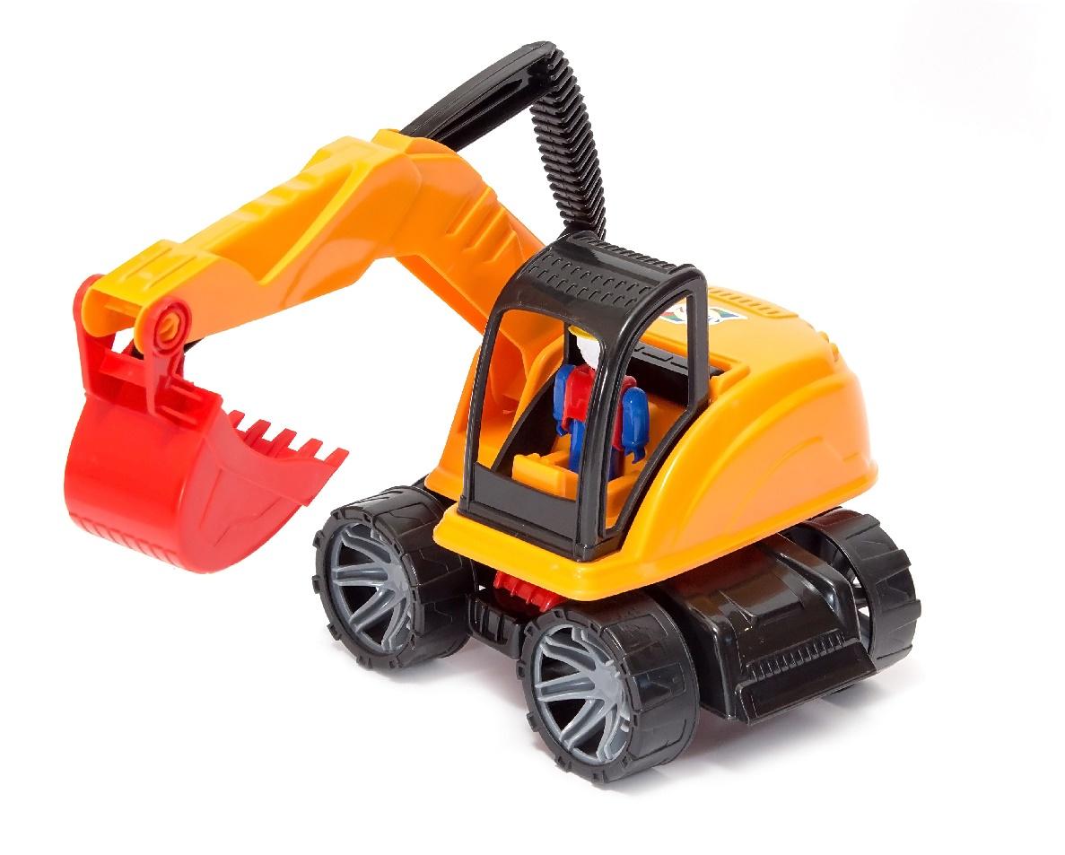 Машинка-игрушка ORION TOYS М4 Экскаватор 249, 1008645 экскаватор orion экскаватор м4 249 в ассортименте 38 5 см экскаватор м4 249