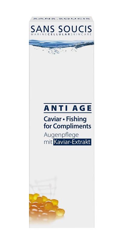Крем для ухода за кожей Sans Soucis Крем антивозрастной для глаз с экстрактом икры «ANTI AGE CAVIAR» , 15 мл, 15 крем подофиллотоксин 0 15