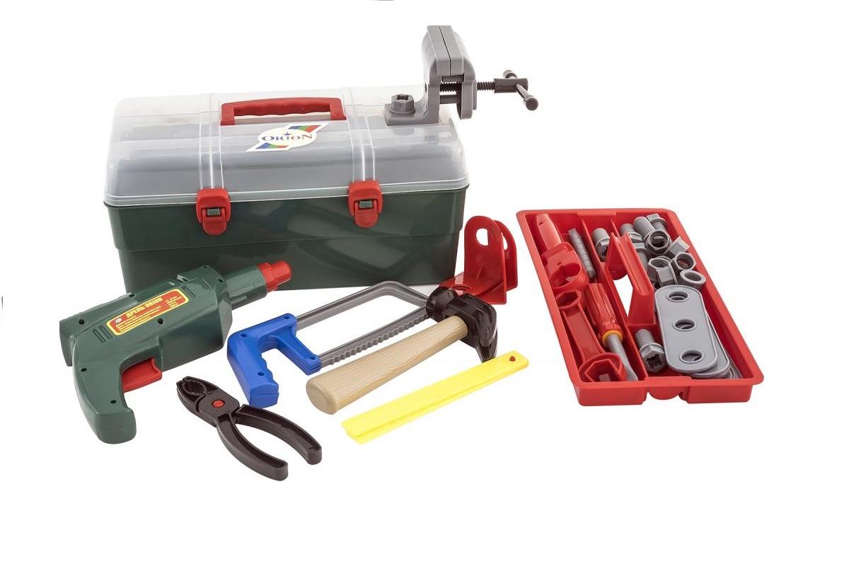 Сюжетно-ролевые игрушки ORION TOYS Набор маленький механик 921 в сундуке