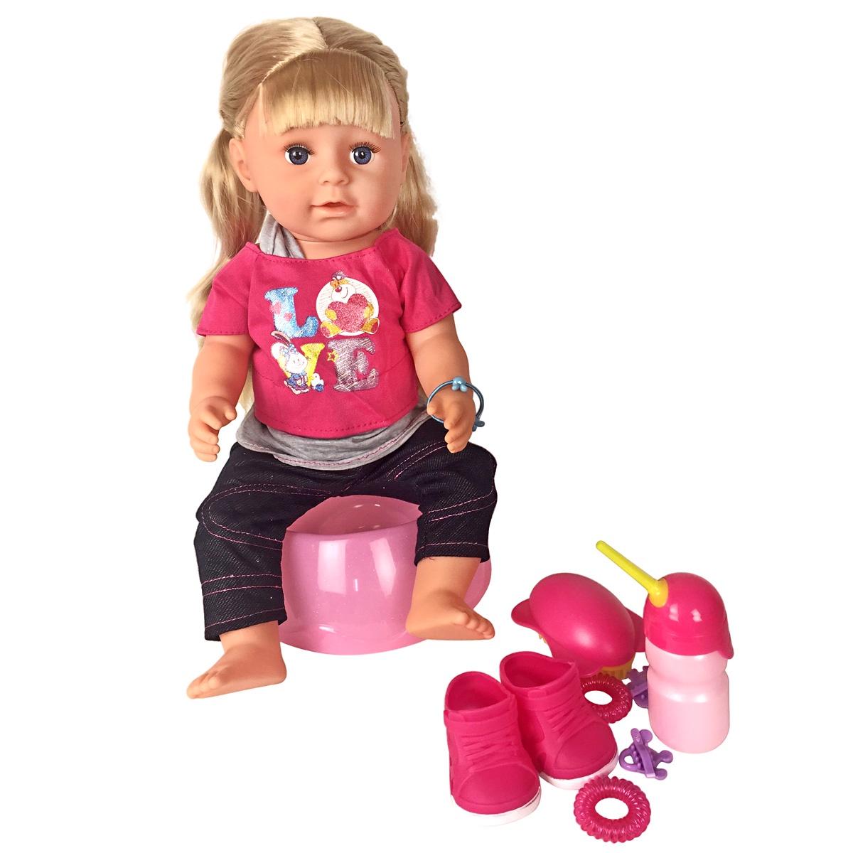 Кукла Lisa Jane Лиза, 46 см, 59490 розовый куклы lisa jane кукла шарнирная света 28 см