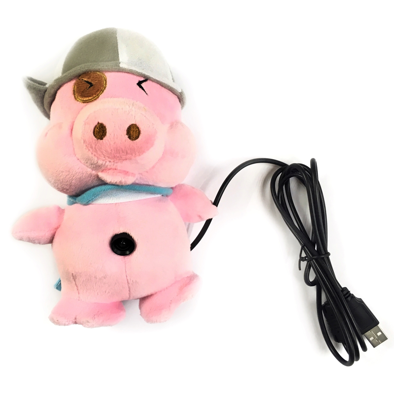 Web-камера AGESTAR S-PC266, Свинтус, USB, S-PC266, розовый веб камеры инструкция