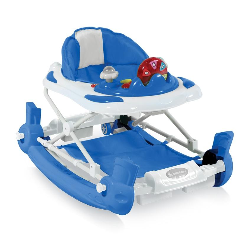 Ходунки Lorelli Ходунки-качалка Bertoni BW School EN Blue голубые голубой bertoni lorelli шезлонг качалка 3 в 1 chill out