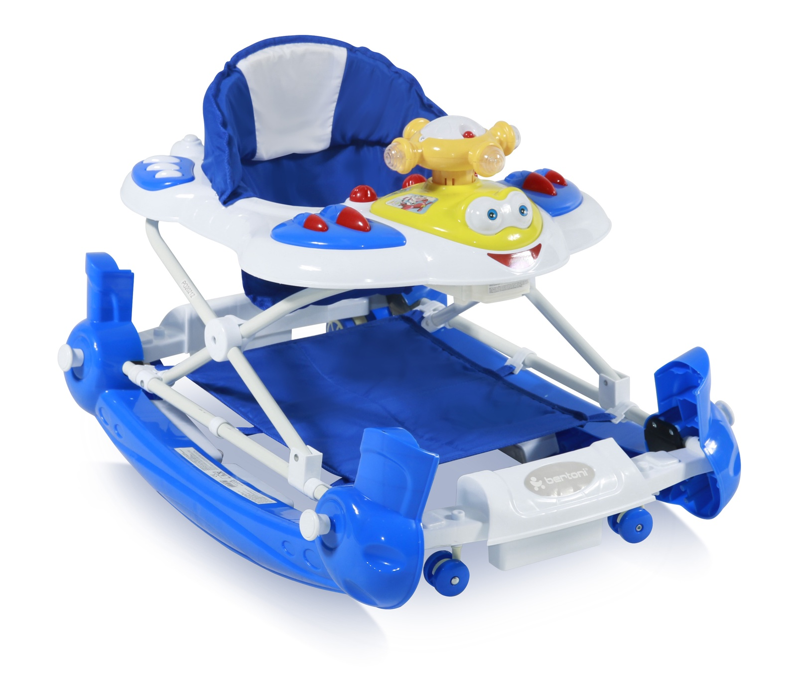 Ходунки детские Lorelli Ходунки-качалка Bertoni BW Helicopter EN Blue Синие синий
