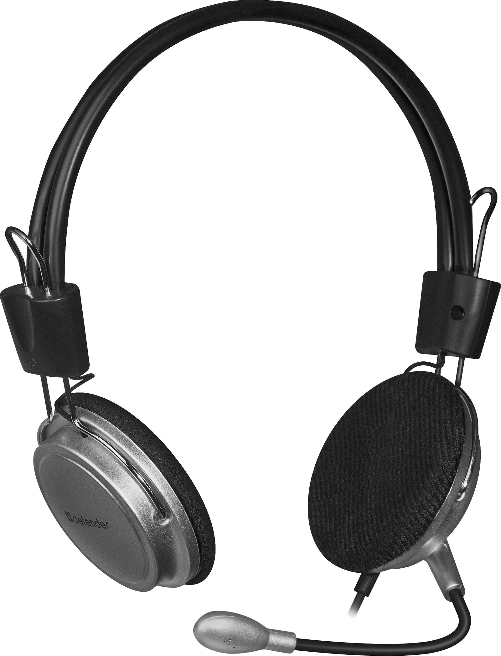 Компьютерная гарнитура Defender Aura 120, 63120, черный цена