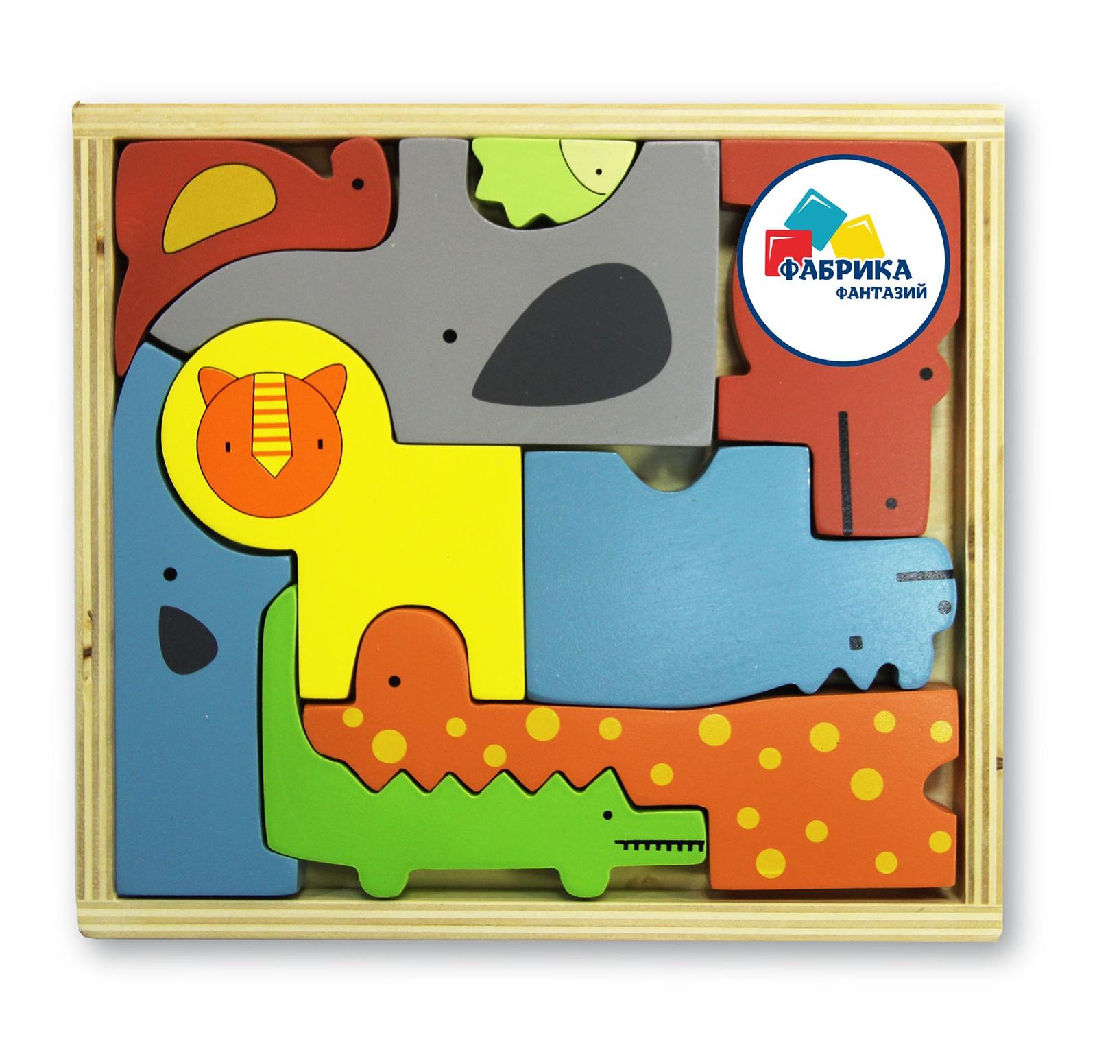 Развивающая игрушка Фабрика Фантазий 72666, 72666 фабрика фантазий обучающая игра фигурки животных чей малыш 60097