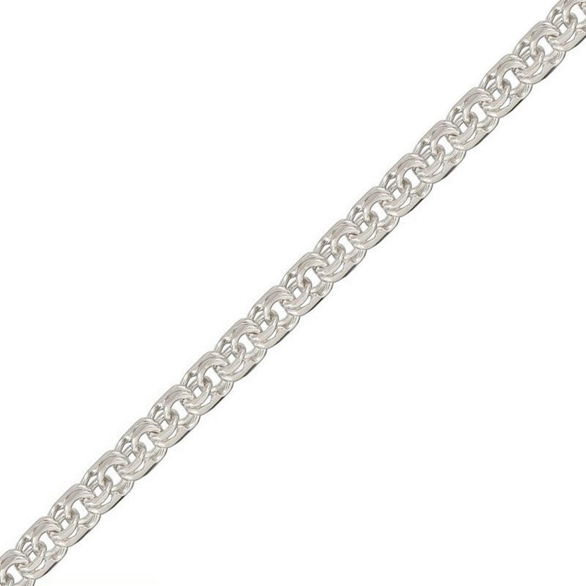 Цепочка Диамида, серебро 925, 60, БМР060СереброСеребрянная цепочка 925 пробы, покрытие: Родирование