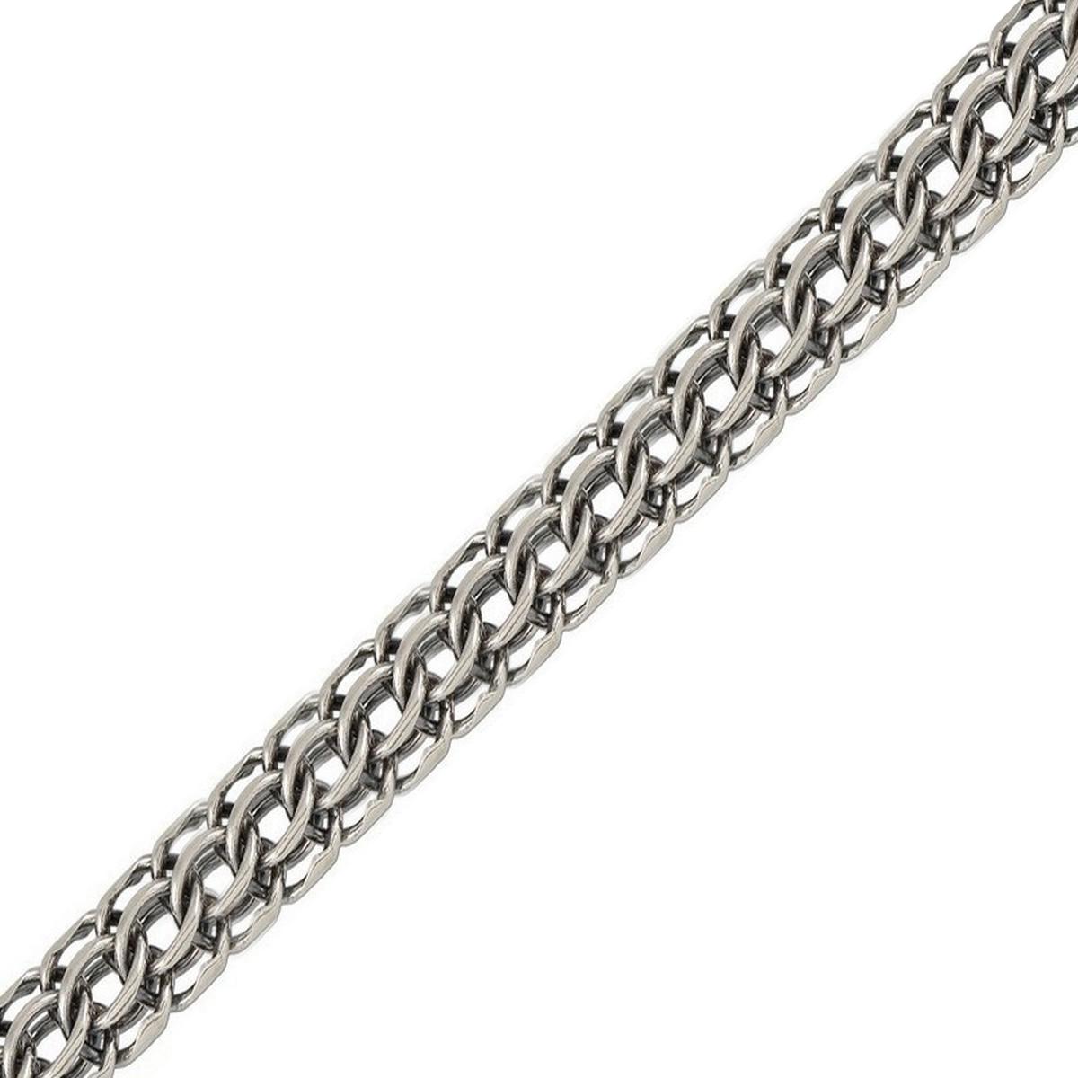 Цепочка Диамида, серебро 925, 70, ФМЧ070СереброСеребрянная цепочка 925 пробы, покрытие: Чернение