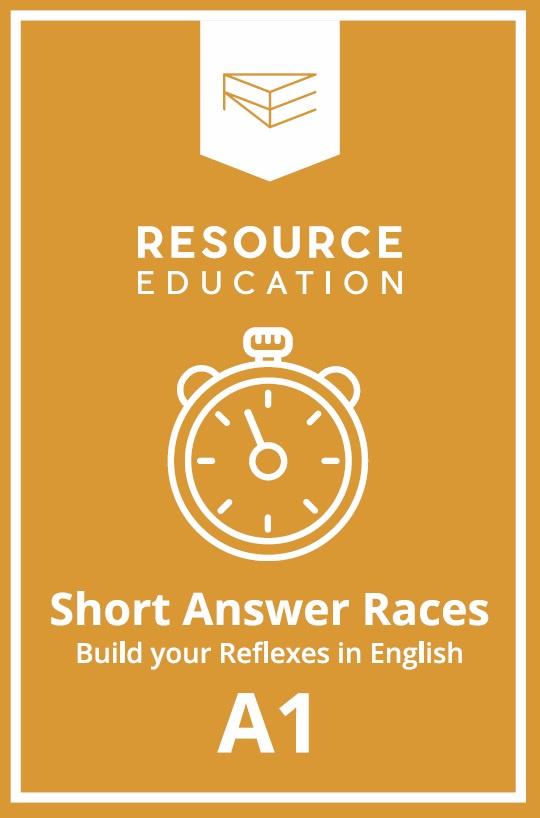 Обучающая игра Resource Education Short Answer Races, P2, 2009969220168