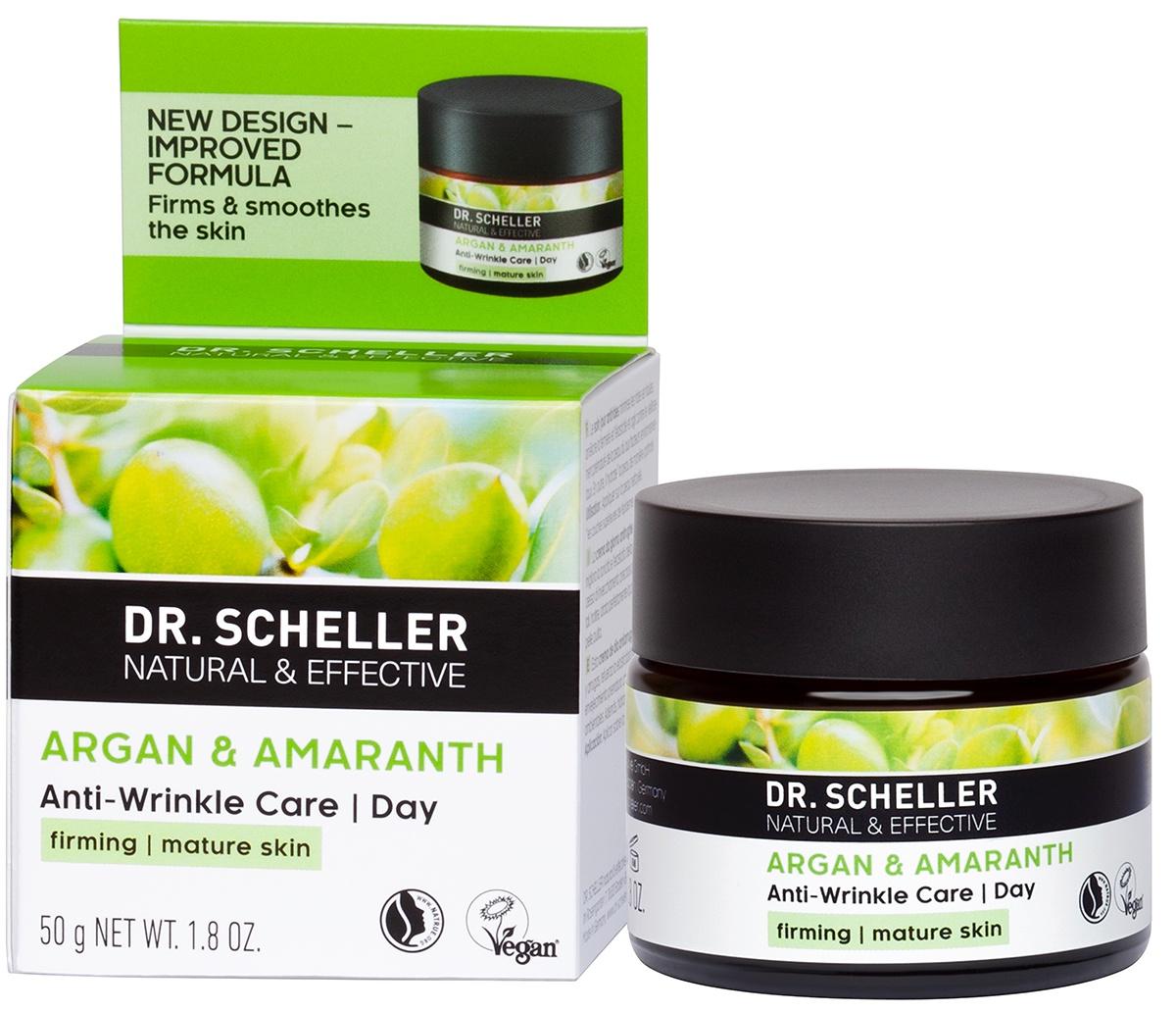 Крем для ухода за кожей Dr. Scheller АРГАНА и АМАРАНТ, 174