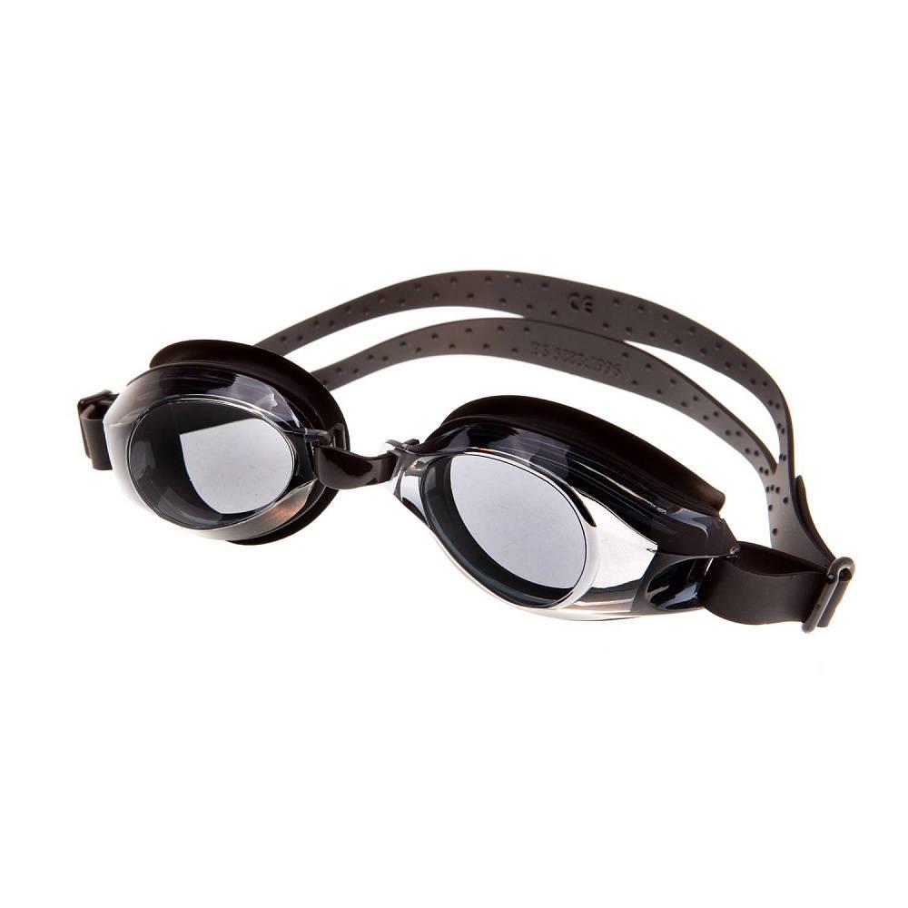 Очки для плавания Alpha Caprice AD-G200, AD-G200-04, черный цена