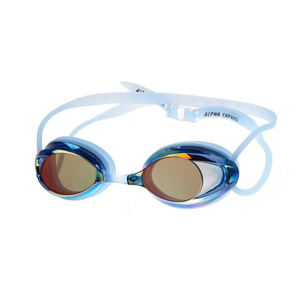 Очки для плавания Alpha Caprice AD-G1700M, AD-G1700M-02, голубой цена