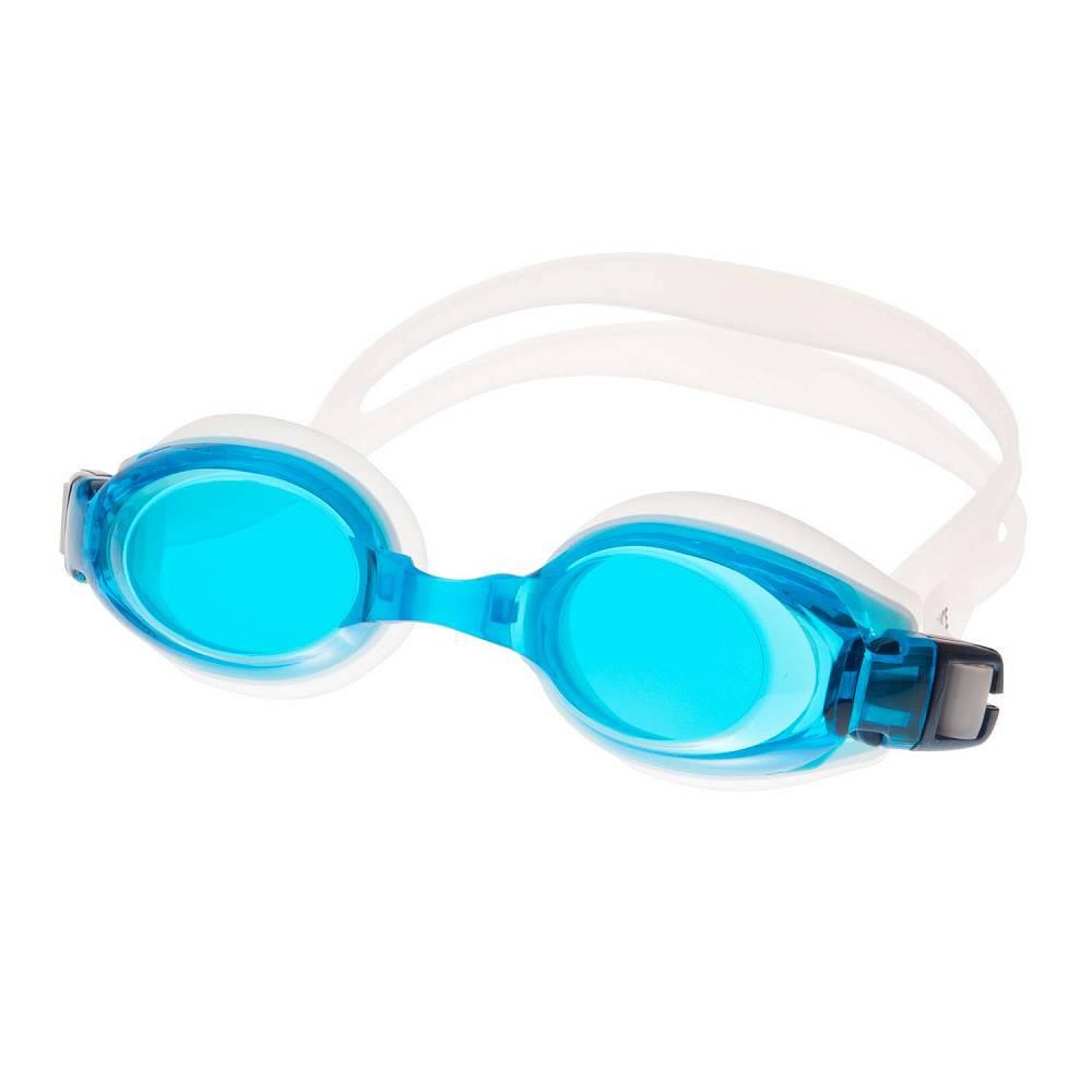 Очки для плавания Alpha Caprice AD-G300, AD-G300-02, голубой, белый цена