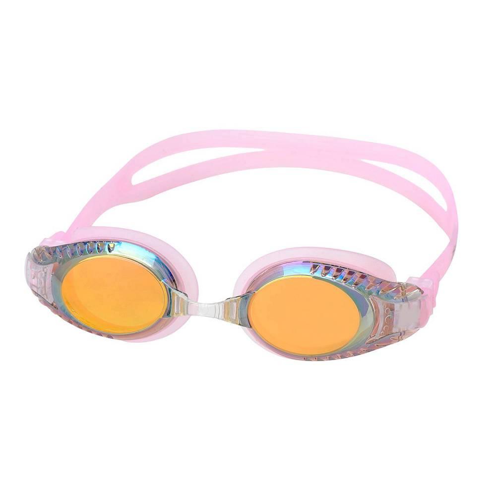 Очки для плавания Alpha Caprice AD-G3600M, AD-G3600M-05, розовый цена