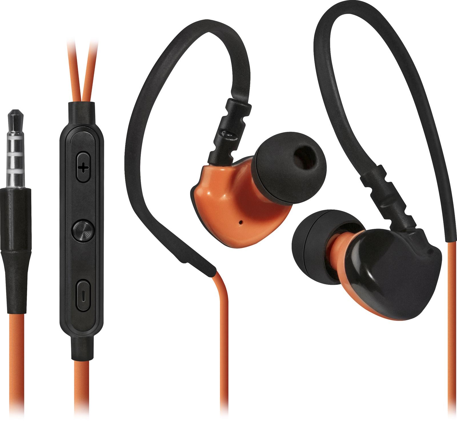 Наушники Defender OutFit W770, 63772, оранжевый вставные наушники defender outfit b 710 черный оранжевый 63712