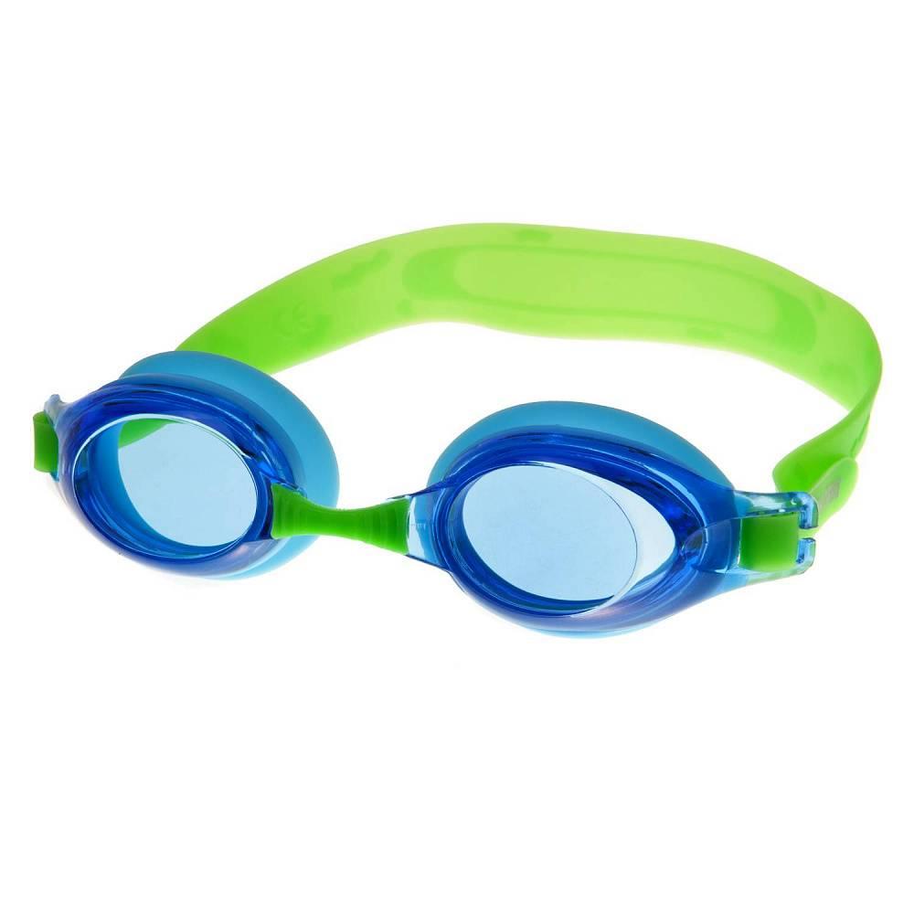 Очки для плавания Alpha Caprice KD-G25, KD-G25-03, зеленый, синий